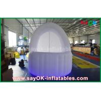 Wholesale White 3m DIA Inflatable Air Tent Oxford Cloth Pub Bar Tent With LED Light from china suppliers