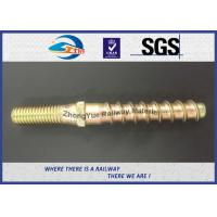 Wholesale Hot Forging Railway Sleeper Screws Double End Special Track Bolt Customized from china suppliers