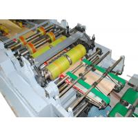 Quality Extra Long Working Time Paper Bag Forming Machine with Four Colors Flexo Printing for sale