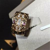 Buy cheap Bvlgari serpenti series ring 18k white gold yellow gold rose gold diamond  ring from wholesalers
