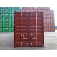 Wholesale Offer 20GP, 40HC ISO dry container from China, SOC container from china suppliers