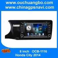 Wholesale Ouchuangbo Honda City 2014 car audio dvd stereo navi with iPod USB SD swc Russia spanish from china suppliers