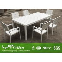 Wholesale White Color Customized Factory Latest Design Patio Outdoor Furniture Hot Sale Cafe Table Chair Set from china suppliers