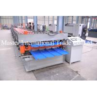 Wholesale Aluminum Roofing Sheet Roll Forming Machine Double Layle Metal Tile Making Machine In China from china suppliers