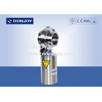 Wholesale Pneumatic Operation Sanitary Butterfly Valves with Clamped Ends from china suppliers