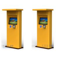 Wholesale Banks Bill Payment Kiosk All in One / Cash Payment Kiosk Support Magcard , IC Card from china suppliers