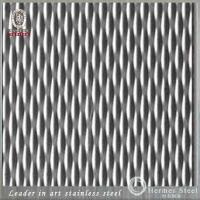 Wholesale TISCO JISCO BAOSTEEL ZPSS LISCO Brand ASTM Standard Decorative Embossed Stainless Steel Sheet  5WL 6WL from china suppliers