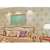 Wholesale Removable Moisture Proof Country Style Wallpaper , Floral Pattern Non Woven Wallcoverings from china suppliers