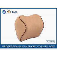 Wholesale Orthopedic Design Memory Foam Travel Neck Rest Pillow with Adjustable Strap from china suppliers