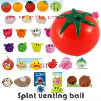 Wholesale Vent ball decompression toys toy novelty Creative Smash it Sticky Toys Sticky Animal Splat from china suppliers