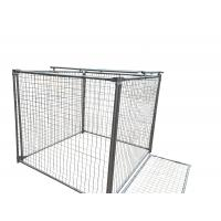 Wholesale 1500MM X 1800MM X 1800MM rubbish cage for sale rubbish containment customized from china suppliers