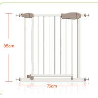 Wholesale Double Protection Easy Close Adjustable Metal Safety Gate With Door from china suppliers