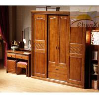 Wholesale Master Room Solid Wood Wardrobe Teak Closet 1820mm Height Mothproof from china suppliers