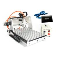 Wholesale USB CNC3040 3 Axis CNC Router 800w spindle 1.5kw VFD Drilling Milling Cutting Machine from china suppliers
