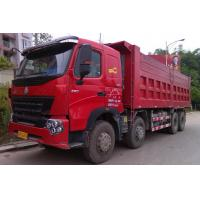 Wholesale Large Capacity 30T 8x4 12 Wheeler Front Lifting Tipper Truck For Transporting Sand from china suppliers