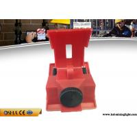 Wholesale Red Clamp On Circuit Breaker Lockout For 120V - 277V Circuit Breaker from china suppliers