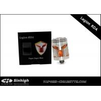 Quality RDA Mask Outlooking Rda Dripping Atomizer / Legion RDA Atomizer for sale