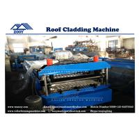 Wholesale Effective Coverage 762 Wave Corrugated Roofing Roll Forming Machine from china suppliers