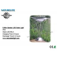 Wholesale 0.66M IP44 Solar Garden LED Lights   Sensor Switch Stainless Steel   Aluminum Alloy from china suppliers