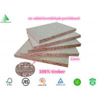 Quality 12mm FSC certified furniture grade wholesale plain NAF particleboard for sale