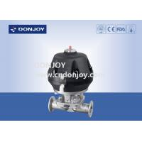 Buy cheap Hygienic pneumatic sanitary diaphragm valves with Plastic Actuator Intelligent Positioner from wholesalers