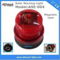 Wholesale Red Solar Traffic Warning Lights With Magnet Municipal Road Construction magnetic Safety Warning Lighting model ASE-004 from china suppliers