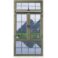 Buy cheap Senbro 45series aluminum casement window with  double glazed grill design from wholesalers