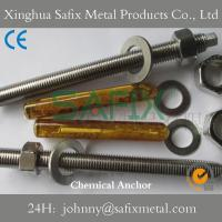 Quality Chemical Anchor/ Anchor Bolt/ Resin Anchor Stainless Steel 304(A2) 316L(A4) for sale
