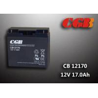 Quality Maintenance Free 12V 17AH Regulated Lead Acid Battery For UPS Energy for sale