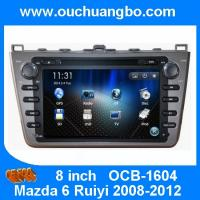 Wholesale Ouchuangbo Car Head Unit GPS Navi DVD System for Mazda 6 Ruiyi 2008-2012 Auto Radio Stereo from china suppliers