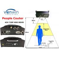 Wholesale Over 98% Accuracy Unique 3G GPRS People Counter MDVR for Bus Passenger Counting from china suppliers