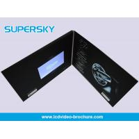 Wholesale Promotional LCD Video Brochure Free USB Cable Video Booklets With Durable Battery from china suppliers