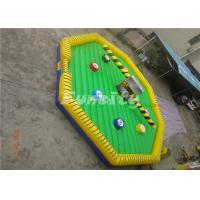 Wholesale Mechanical Inflatable Jumping Oktagon Wipeout , PVC Material Inflatable Meltdown from china suppliers