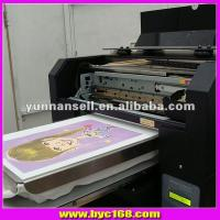 Wholesale black and white t shirt printer with white ink from china suppliers