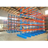 Wholesale Warehouse Double Sided Cantilever Rack , Industrial Steel Storage Racks from china suppliers