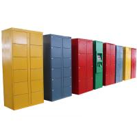 Wholesale 76 Doors Rental Stainless Steel Lockers , Electronic Parcel Lockers  for Park / Train Station from china suppliers