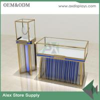 Wholesale Jewelry shop showcase wooden furniture showcase China supplier glass display cabinet from china suppliers