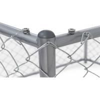 Wholesale Removable Temporary Dog Fence Outdoor Dog Barrier For Yard Anti Impact from china suppliers