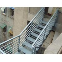 Wholesale Strong Industrial Building Space Saving Steel Stair Construction For Home Easy Installation from china suppliers