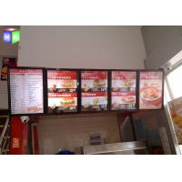 Wholesale Restaurant LED Indoor Light Box Snap Frame Signs 12V 3W Energy Saving from china suppliers