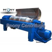 Wholesale Horizontal Centrifugal Decanter Centrifuges 2 / 3 Phase For WWTP from china suppliers