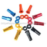 Wholesale CNC Billet MX Bling Kit Wheel Lock Nuts And Wheel Spacers For MX Dirt Bike from china suppliers