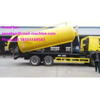 Wholesale Self Dumping Sanitation Garbage Truck / Sewage Suction Truck 6x4 336hp For City Cleaning LHD or RHD from china suppliers