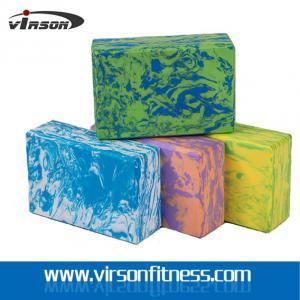 Wholesale Virson OEM Custom Logo Print Colourful High Density EVA Foam Yoga Block& Yoga Bricks from china suppliers