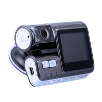 Quality New Dual Camera Car Reverse DVR 2.4'' LCD HD720P Digital Video Rearview Miiror for Vehicle Driving Camera for sale
