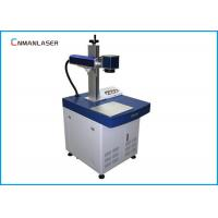 Buy cheap Long Lifespan Colorful stainless steel Metal Laser Marking Machine 20HZ - 100KHZ from wholesalers