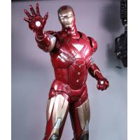 Buy cheap 1:1 Size 215cm Height Full Fiberglass Red Iron man Figure For Sale from wholesalers