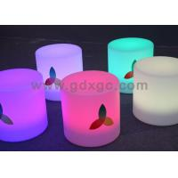 Wholesale Nontoxic and peculiar smell LED round bar stool , LED Cube Chair from china suppliers