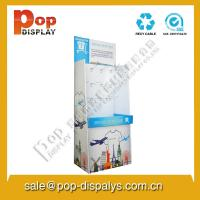 Wholesale Brochure Corrugated Paper Display Stands With Hook Lightweight from china suppliers