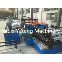 Wholesale Cable Tray Roll Forming Machine Singal Chain Drive PLC Control System 12 - 15m / Min Speed from china suppliers